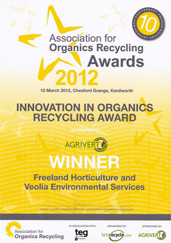 Association for Organics Recycling Awards